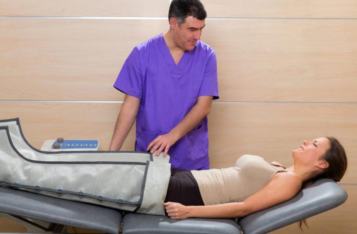 Pressoterapia: trattamento completo