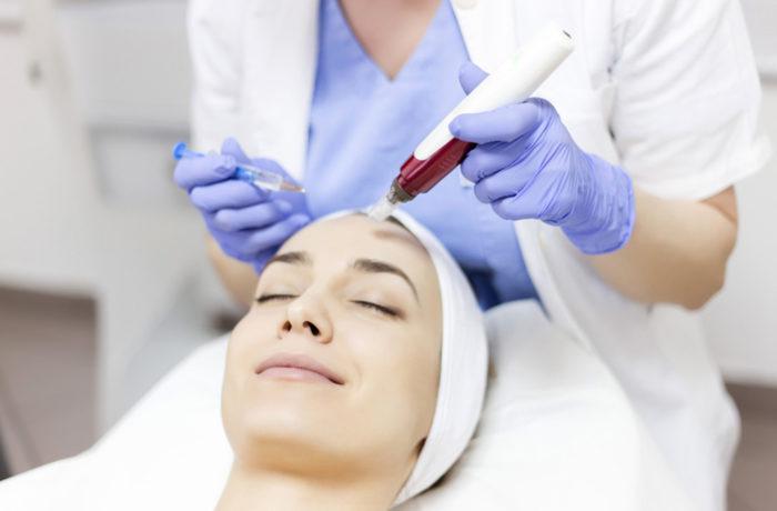 Acido glicolico marino per il viso